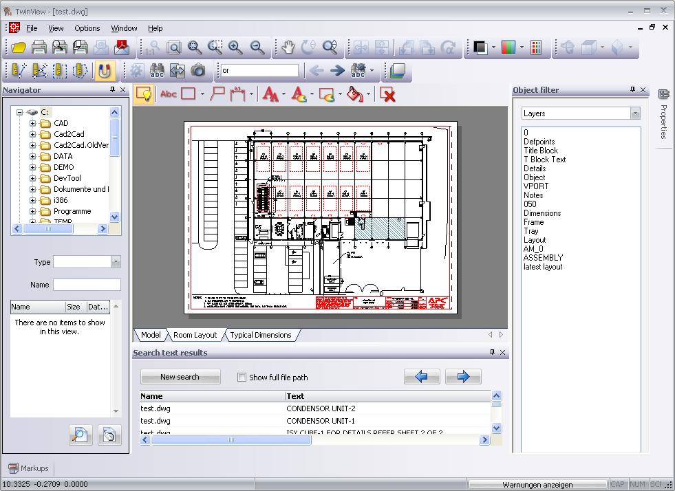 Screenshot vom Programm: TwinView Edit